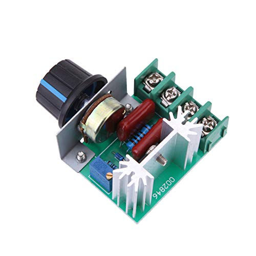 (Greartisan 50V-220V 25A 2000W AC Motor Speed Controller PWM Variable Speed Regulator Governor Switch CCMAC)