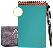 Rocketbook Smart Reusable Notebook - Dotted Grid Eco-Friendly Notebook with 1 Pilot Frixion Pen & 1 Microf