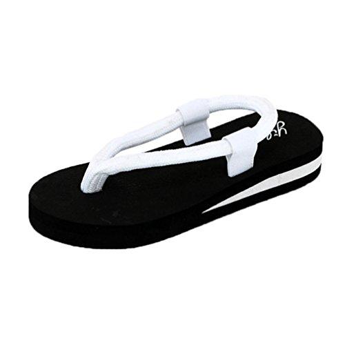 Bianco Lanciare Donne Cintura Promotiom Anti Open Flop Scarpe 2018 Spiaggia Sandali Fine Donna Scivolo Toe Per Estiti Sandali Flip Con Iq0pH