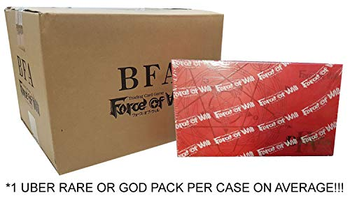 Force of Will: Battle for Attoractia Factory-Sealed 6-Box Booster Case!! Outlet Price!! Look FORUBER ()