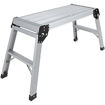 Amazon Com Auey Aluminum Platform Drywall Step Up Folding