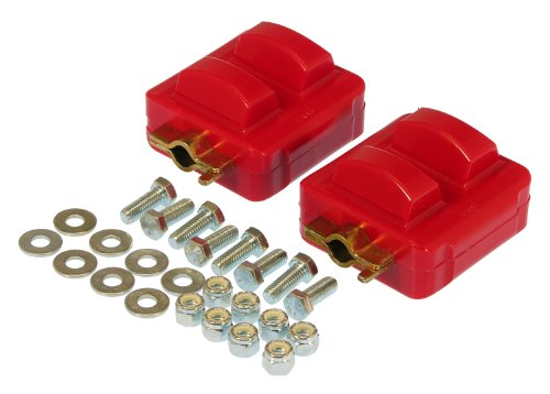 Prothane 7-512 Red Motor Mount Kit (Prothane Motor Mounts)