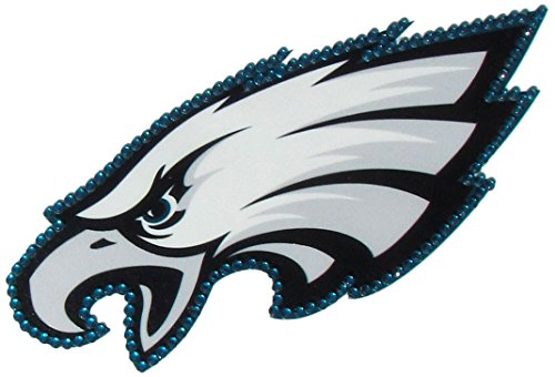 Siskiyou NFL Philadelphia Eagles Vinyl Bling Decals, Large ()