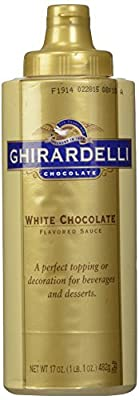 Ghirardelli White Chocolate Sauce Squeeze bottle