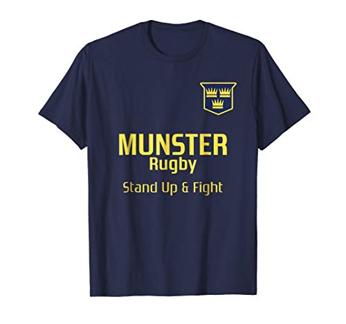Vintage Style Munster Rugby T shirt- Ireland rugby T shirt