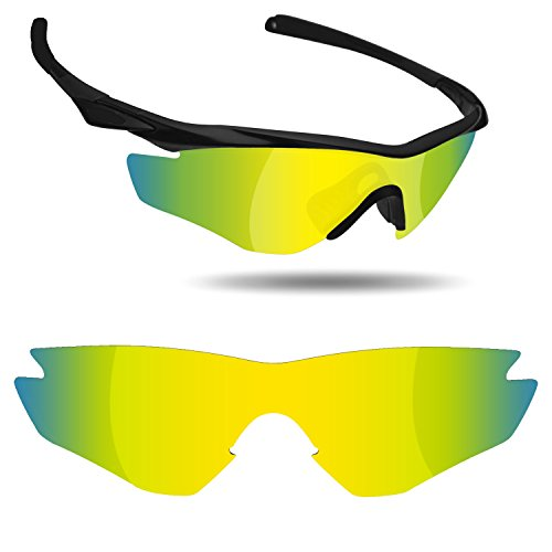 Fiskr Anti-saltwater Replacement Lenses for Oakley M2 Frame Sunglasses - Various Colors by Fiskr