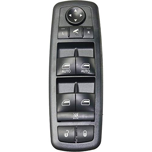 Window Switch compatible with Chrysler Town And Country 08-09 / Grand Caravan 08-10 Power Front Left Side 11 Gang Switch Panel