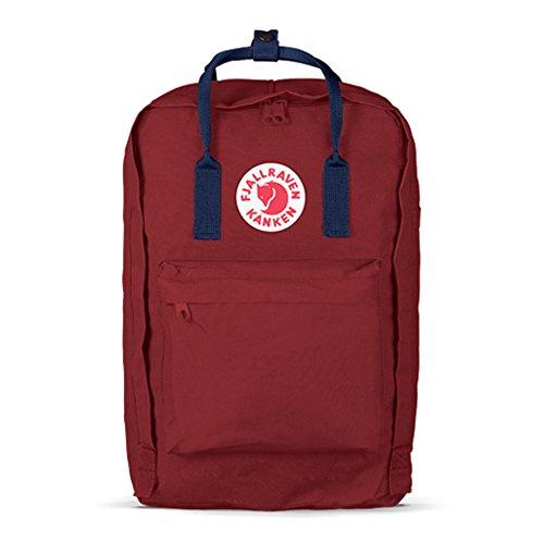 Fjallraven Unisex Kanken Laptop 15'', Ox Red, Royal Blue, One Size by Fjallraven