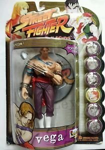 Street Fighter Resaurus Round 1 Vega (Player 1) Action Figure