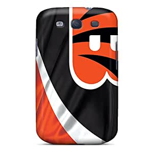 Protective Cell-phone Hard Covers For Samsung Galaxy S3 (jyZ4702xaDS) Custom Stylish Cincinnati Bengals Image