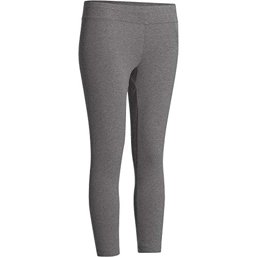 3426c3080666 Buy Domyos 500 Fit + Women's Slim-Fit Gym & Pilates Leggings - Mottled Grey  Online at Low Prices in India - Amazon.in