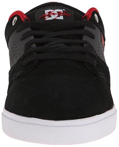 Zapato Dc Hombres Cole Lite Skate Negro / Gris