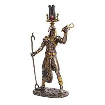 PTC 11 Inch Egyptian Thoth Mythological God Resin Statue Figurine