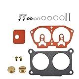 labwork Carburetor Rebuild Kit Fit for Yamaha 115 130 150 175 200 225 HP Outboard V4 V6 with Needle Seat Premium Gaskets