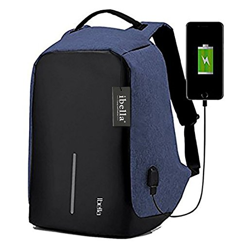Travel Outdoor Computer Backpack Laptop bag 15.6''(blue) - 7
