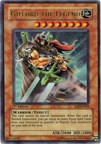 Yu-Gi-Oh! - Gilford the Legend (SD5-EN001) - Structure Deck 5: Warrior