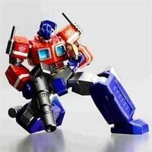 Transformers Optimus Prime 20th Anniversary Figure by Hasbro