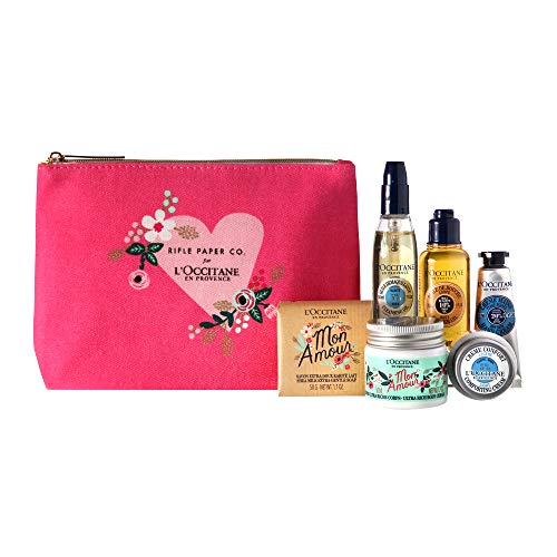 L'Occitane Rifle Paper Co. Shea Butter Discovery Kit