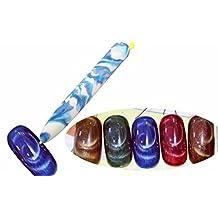 sea-junop Funny Nail art Pen stylo Peinture Dotting Manicure polonais Magnet Pen