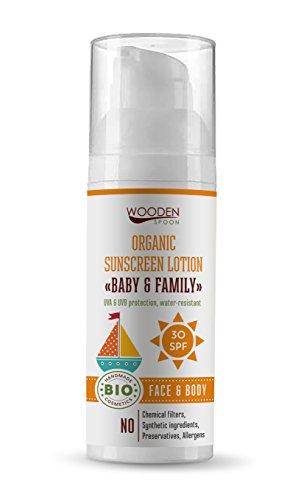 Holz Löffel Sonnenschutz LSF 50 50 ml