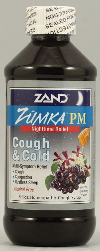 Zand Zumka Pm Syrup Elderberry Herbal Supplements, 8.0 Ounce For Sale
