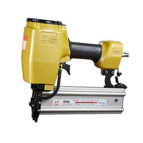 meite ST64 14 Gauge 3/4-Inch to 2-Inch Heavy Duty Pneumatic T Nailer for Concrete T-Nailer