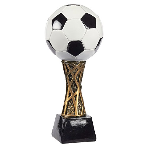 - Juvale Soccer Trophy - Sports Award Trophy - Trophy Award Recognition for Soccer Players, Coaches for Kids Sports Tournaments, Competitions - Soccer Ball, 12.5 x 5.5 x 5.5 Inches