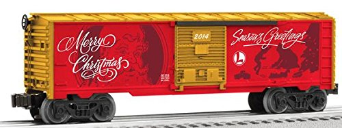 Personalized Message Xmas Box Car