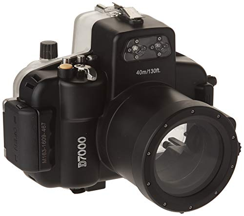 Polaroid SLR Dive Rated Waterproof Underwater Housing Case For The Nikon D7000 SLR Camera with a 18-55mm Lens ()
