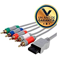 Cable AV Componente HD para Nintendo Wii / Wii U