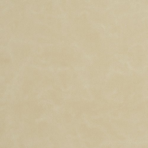 - Bisque Beige Tan Taupe Distressed Leather Grain Plain Solid Polyurethane Vinyl UltraHyde Performance Grade Upholstery Fabric by the yard