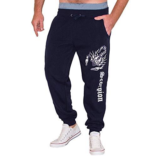 Stampa Pantalone Blu Lavoro Caviglia Slim Sportivi Uomo Cargo Jeans A Feixiang Pantaloni Da Lungo Fit Casual S6pTnq864x