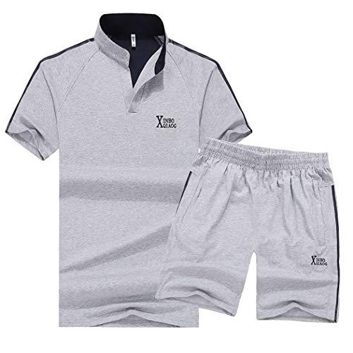 湾実際に意気込みSemiAugust(セミオーガスト)アウター セットアップ メンズ 上下 ポロシャツ 吸汗速乾 ゴルフウェア ショートパンツ カジュアル 半ズボン 鹿の子 カジュアル おしゃれ シャツ ストリート メンズファッション