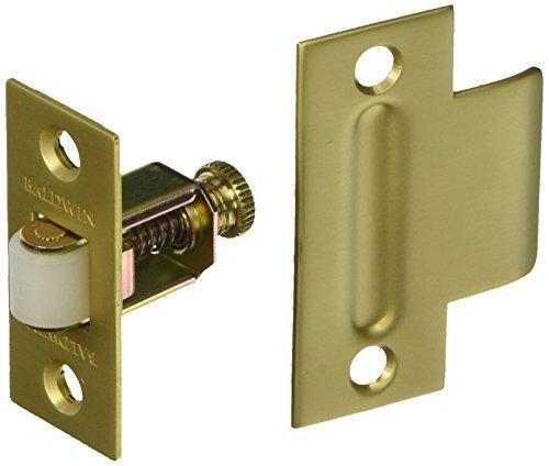 Baldwin 0440034 Adjustable Roller Catch, Unlacquered Vintage Brass by Baldwin
