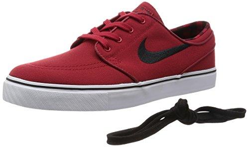 Nike Zoom Stefan Janoski Zapatillas de skateboarding, Hombre Gym Red/Black/White