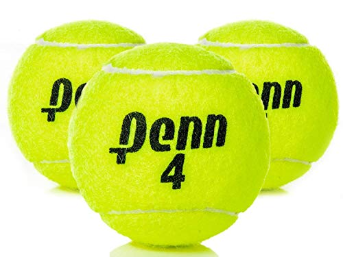 - Penn High Altitude Tennis Balls Championship – 4-Pack 12 Balls Yellow - USTA & ITF Approved - Official Ball of The United States Tennis Association Leagues - Natural Rubber for consistent Play