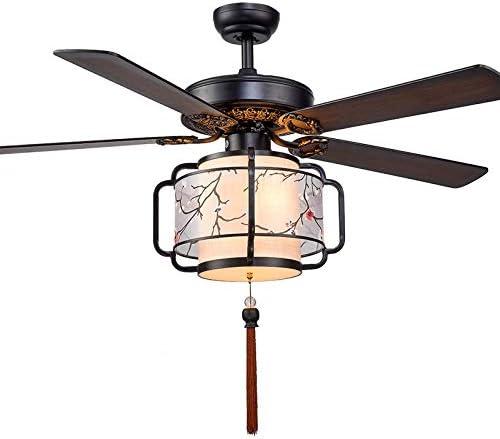 Lámpara de Techo con luz de Ventilador Techo Luz de Ventilador de ...