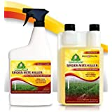 Growers Trust Spider Mite Killer Non-toxic, Biodegradable - Natural Pesticide-Organic Ingredients- Earth Friendly Pest Control-Solution makes 32 oz Ready to use Foliar Spray