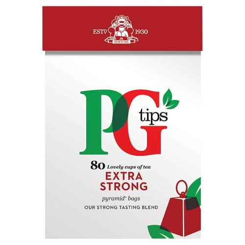 PG Tips Extra Strong 80S Pyramid Teabags 232G, 232 G
