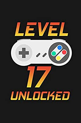Level 17 Unlocked: Happy 17th Birthday 17 Years Old Gift For ...