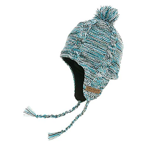 Dexshell Waterproof Earflap Beanie, Sky Heather