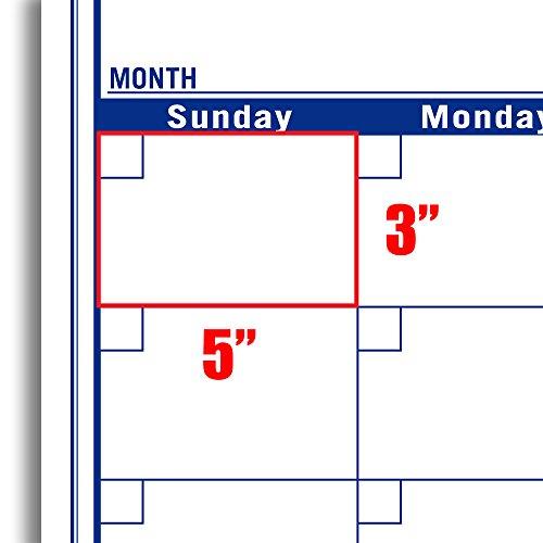 """NEW! Quarterly Wall Calendar VERTICAL Wall Planning Project Calendar – Dry Erase Calendar 72″x36"""""""