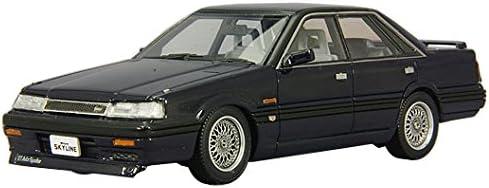 Bel tempo CAM 1 / 43 Nissan Skyline 4 door hard top GT passage twin cam 24V Turbo 1987 BBS wheels blue black