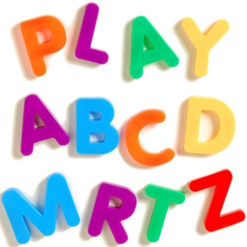 amazoncom giant magnetic letters uppercase industrial scientific