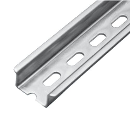 ASI PR006-1M Heavy Duty DIN Rail with Slots, 1 m Length x 35 mm Width x 15 mm Height (Pack of 10)