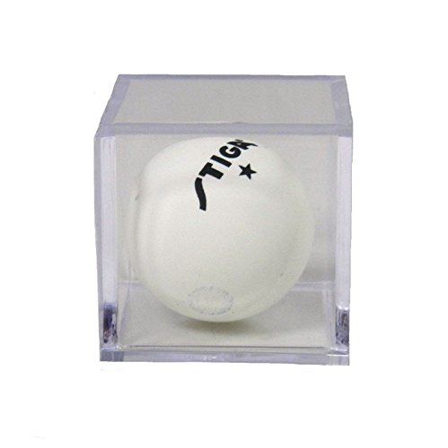 - CPW (tm) Custom Single Ping Pong Ball Clear Acrylic Display Box 2