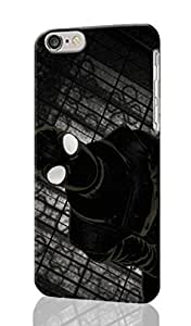"""Batman Shattered White Art Personalized Diy Custom Unique 3D Rough Hard Case Cover Skin For iPhone 6 Case, iPhone 6 4.7"""" inches case, Design By Graceworld"""