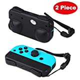Defway Joy Con Grip, Charging Holder Grips for Nintendo Switch Joy-Con Controller, Comfort Alternative for Joycon Strap, Joy Con Charger with Battery & Charge Indicator, USB C Port, USB Cable, 2 Piece