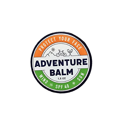 Adventure Balm - The BEST Natural Sunburn & Windburn Protection for Year Round Sports & Outdoor Activities - 1.5 oz