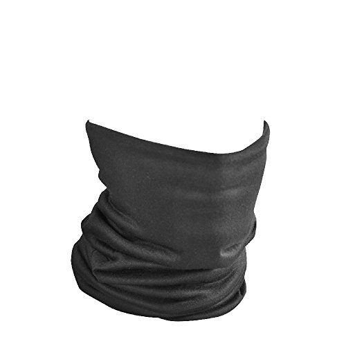 Zan Headgear TF114, Motley Tube, Fleece Lined, Black